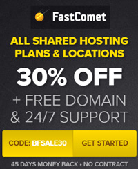 Black Friday оферта на FastComet